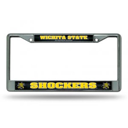 Wichita State Shockers Chrome License Plate Frame - image 1 de 1