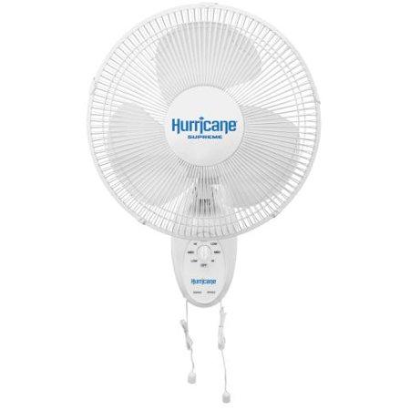 Hurricane Supreme Oscillating Wall Mount Fan 12 in 63 Plt