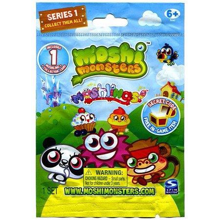 Moshi Monsters Moshlings Series 1 Mini Figure Single (A Year In The Life Mini Series)