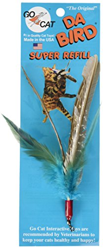 GoCat DaBird Feather Refill Assorted Colors Pack of 3