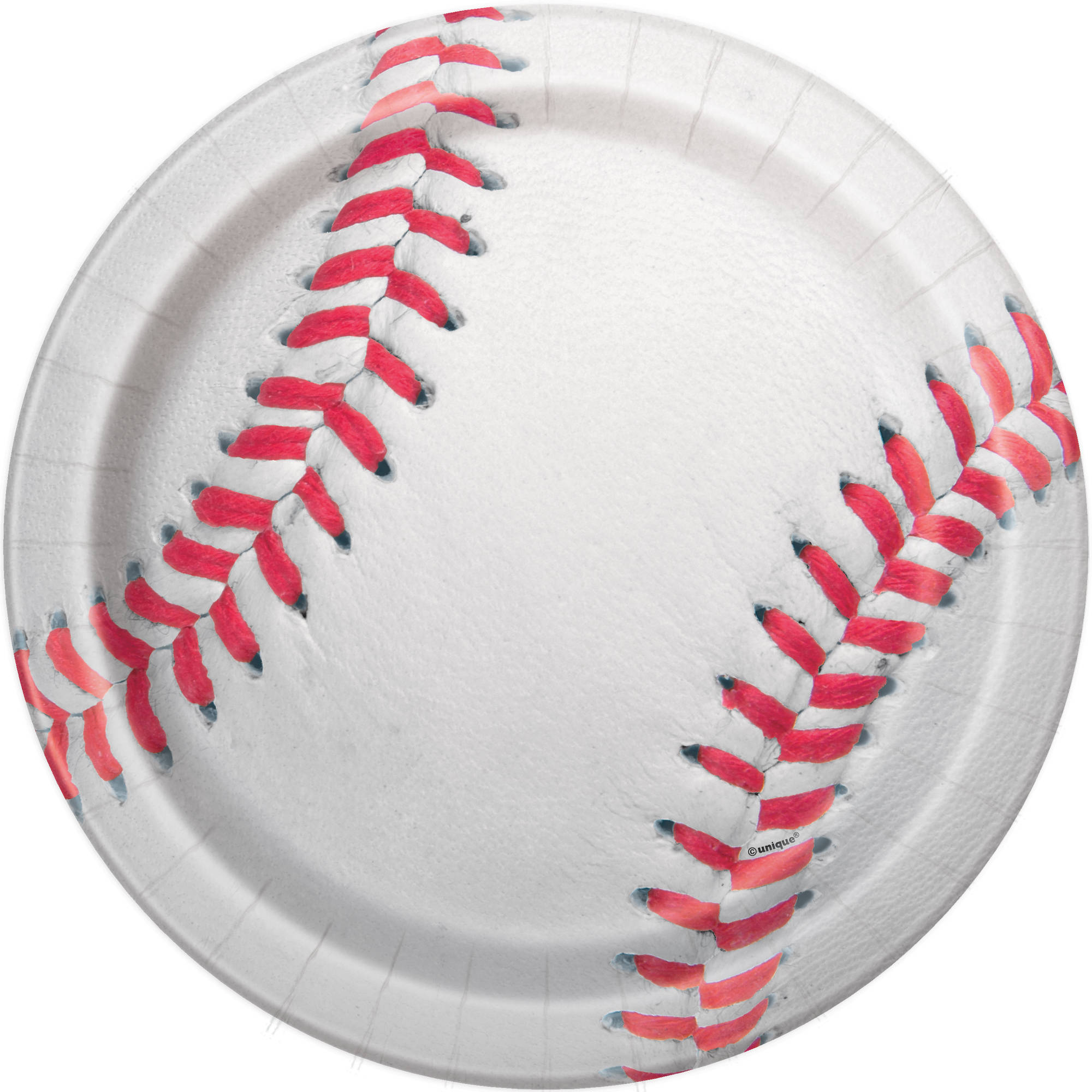 "9"" Baseball Party Plates, 8ct"