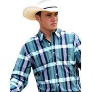 Cinch Western Shirt Mens Long Sleeve Modern Button Navy MTW1343006