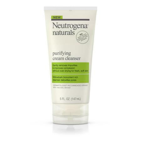 Purifying Facial Cream Cleanser (Neutrogena Naturals Purifying Daily Facial Cream Cleanser, 5 fl.)