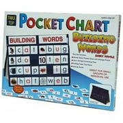 Patch Products 777 Tabletop Pocket Chart - Building Words