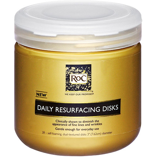 RoC Daily Cleansers Resurfacing Disks - 28 Ct