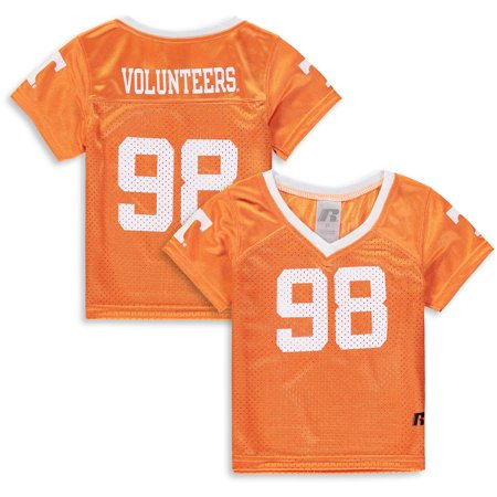 Ncaa Replica Uniform (Toddler Russell Tennessee Orange Tennessee Volunteers Replica Football Jersey)