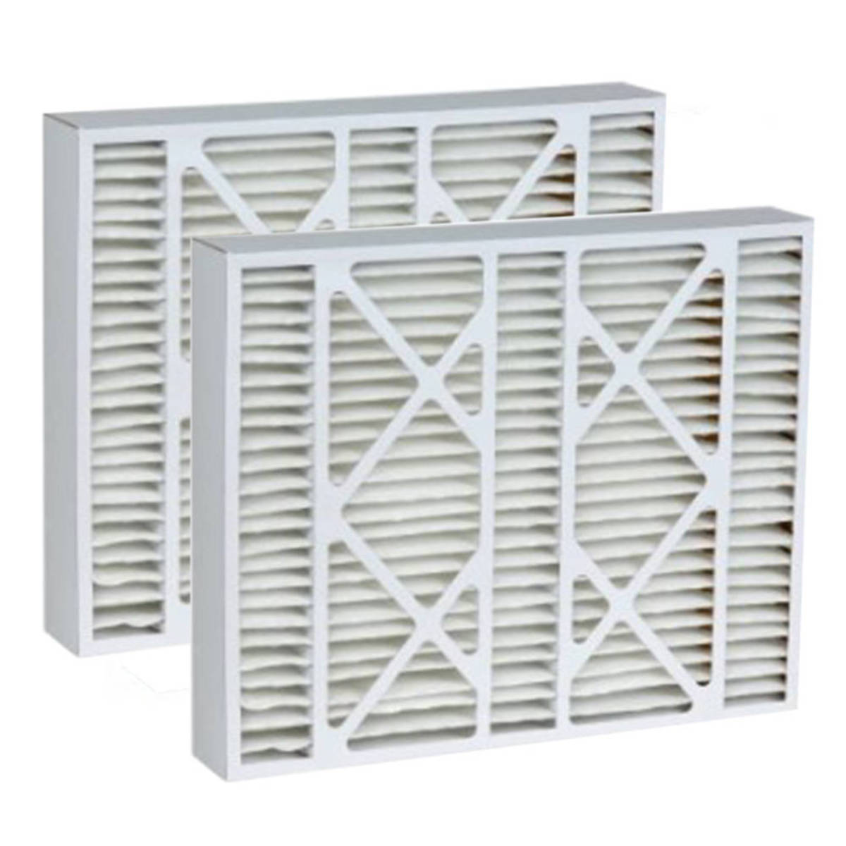 Tier1 20x21x5 Merv 11 Replacement for Electro-Air Air Filter 2 Pack