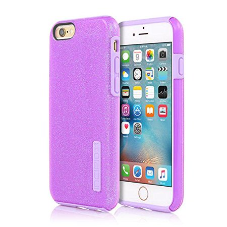 iPhone 6S Case, Incipio DualPro Glitter Case [Shock Absorbing] Cover fits Both Apple iPhone 6, iPhone 6S - Purple - image 3 of 3