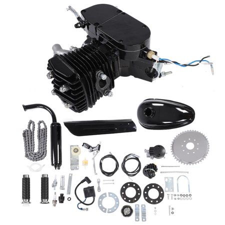 Dilwe 80CC Bicycle Engine Kit 2 Stroke Gas Motorized Bike