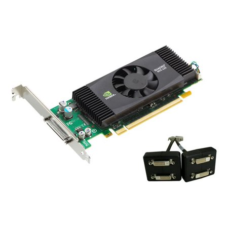 NVIDIA Quadro NVS 420 by PNY 512MB GDDR3 PCI Express Gen 2 x16 VHDCI to Quad DVI-D SL or DisplayPort Profesional Business Graphics Board, VCQ420NVS-X16-DVI-PB