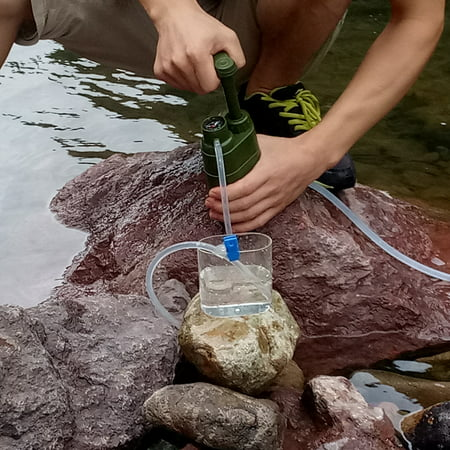 Outdoor Water Filter Straw Water Filtration System Water Purifier for Family Preparedness Camping Hiking Emergency - image 4 of 7