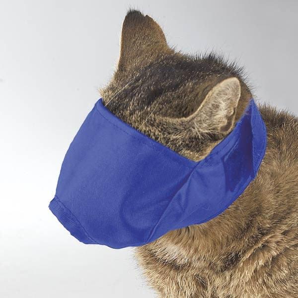 Guardian Gear Cat Muzzle Lined To 6lb S Blu