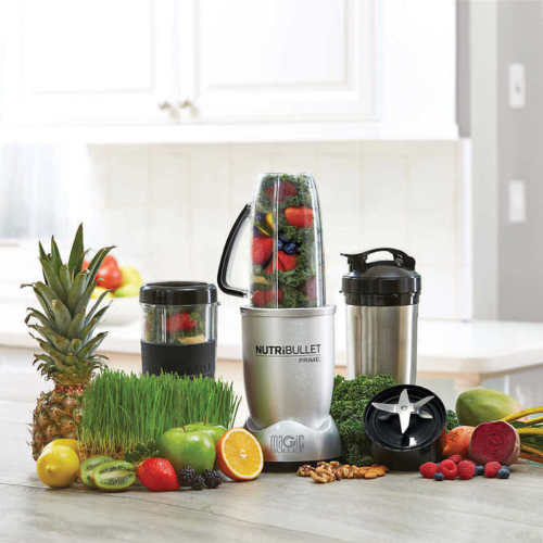 NutriBullet Prime 12 Pieces Set Speed Blender/Mixer System 1000 Watts