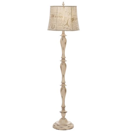 EC World Imports Urban French Connection Candlestick 64'' Floor Lamp