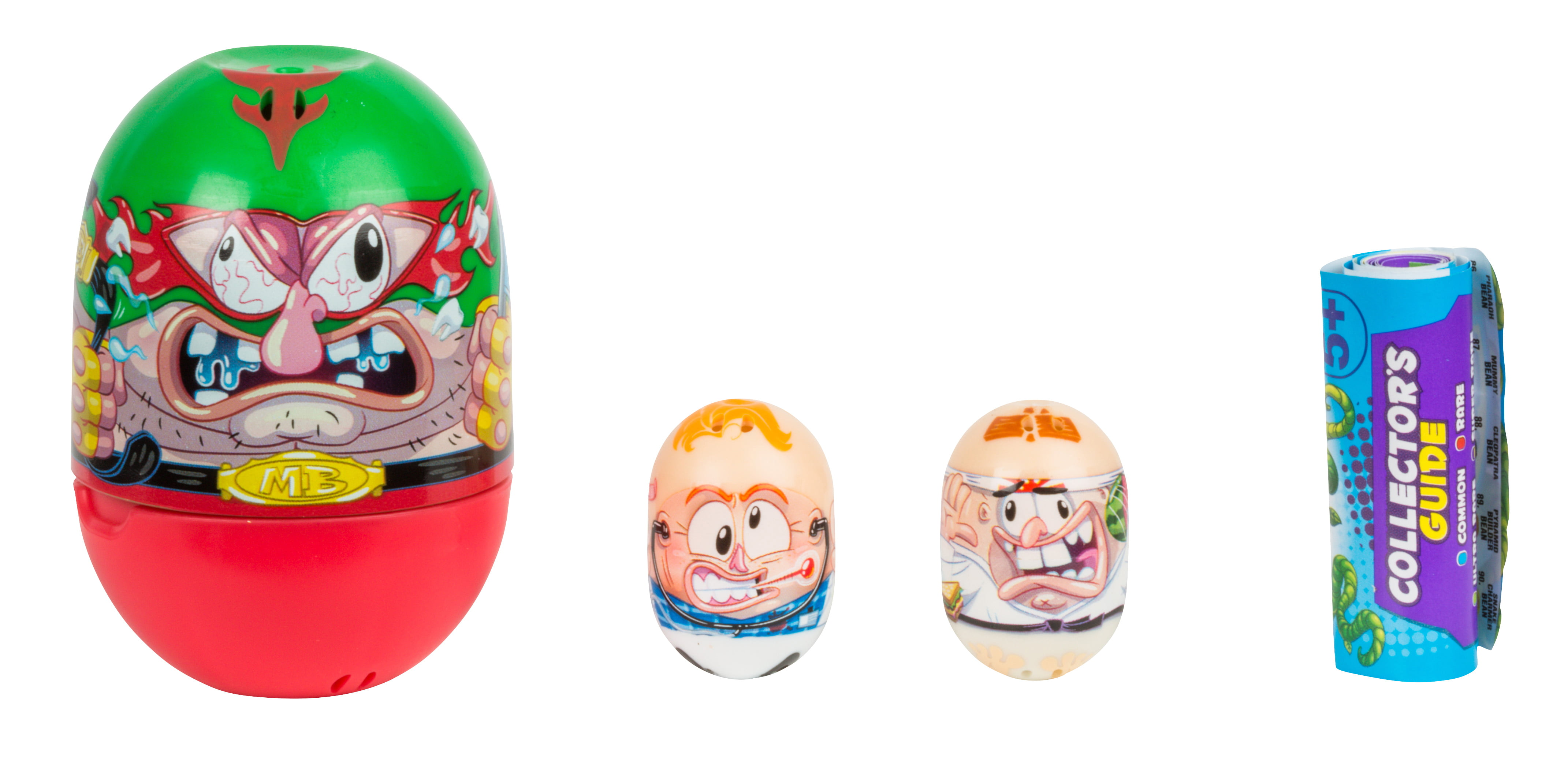 Mighty Beanz Mystery Bean 2-Pack with Collectible Container