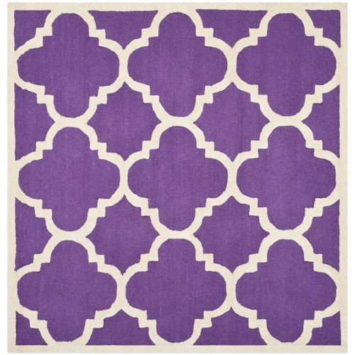 Walmart Purple Rug: Safavieh Cambridge Purple / Ivory Area Rug