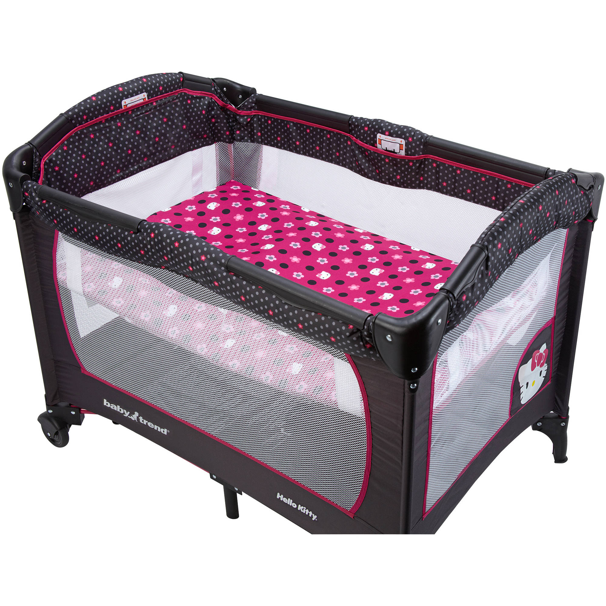 Hello Kitty Play Yard Sheet