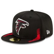 Atlanta Falcons New Era 2021 NFL Sideline Home 59FIFTY Fitted Hat - Black