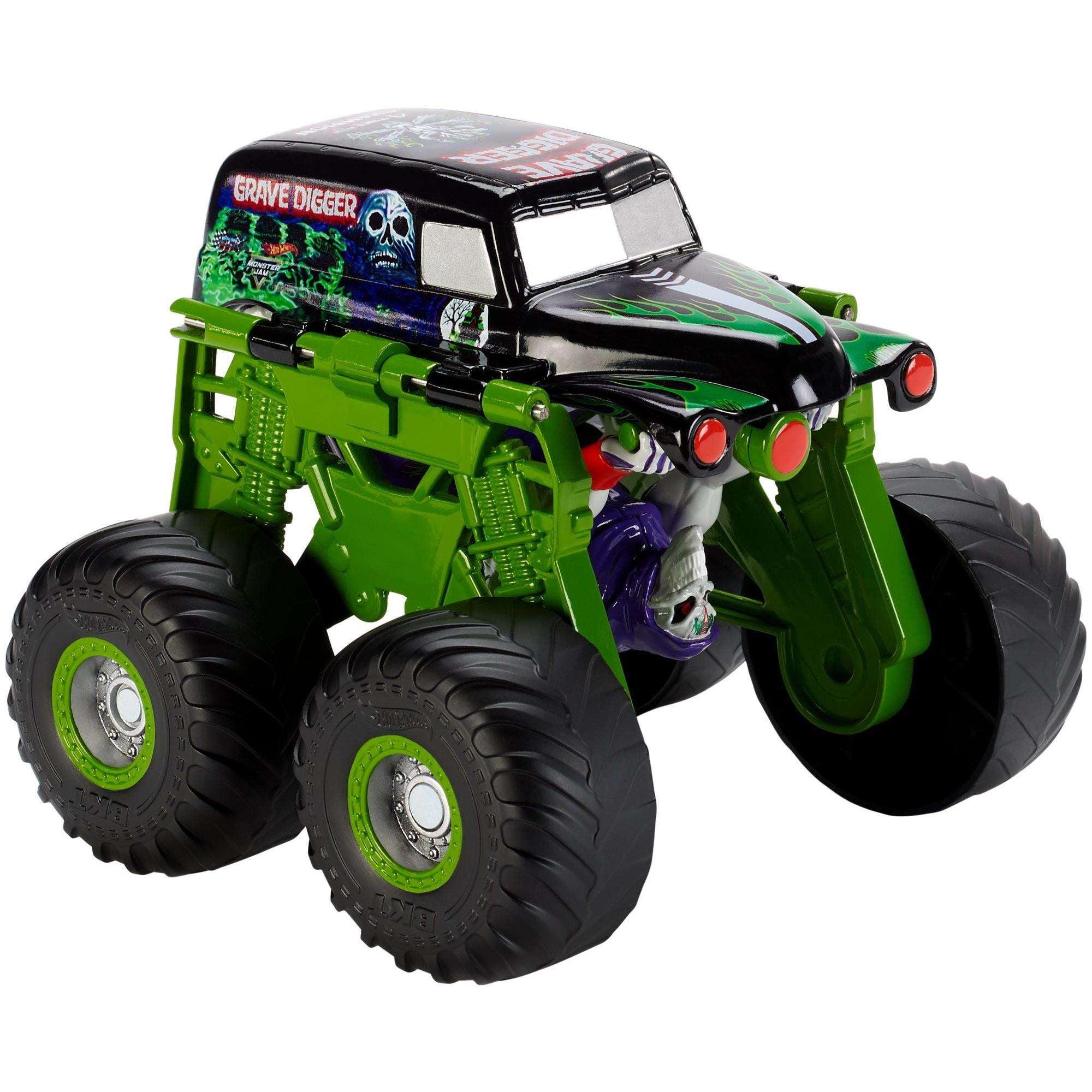 Hot Wheels Monster Jam Monster Morphers Grave Digger Vehicle by Mattel