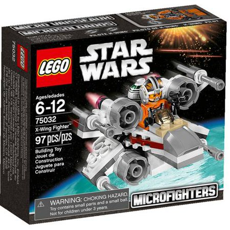 Lego Star Wars X Wing Fighter Play Set Walmart