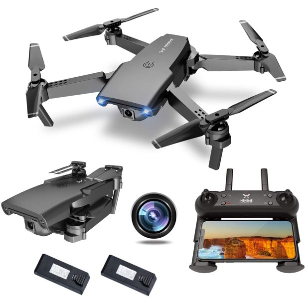 NEHEME NH525 Foldable Drones with 720P HD Camera for Adults, RC Quadcopter