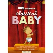 HBO Classical Baby [dvd 3pk art dance music ff-4x3 re-pkgd] by WARNER HOME ENTERTAINMENT