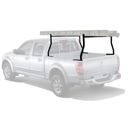 ZENY 650LB Truck Ladder Rack Universal Contractor Pick Up Car Rack Lumber Cargo - Removable Ladder Rack