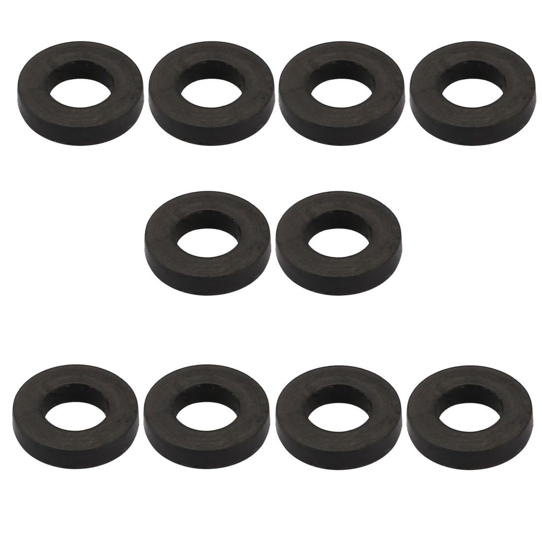 10Pcs rondelle plate ronde caoutchouc mesures assortie 4x7.3x1.5mm - image 2 de 2