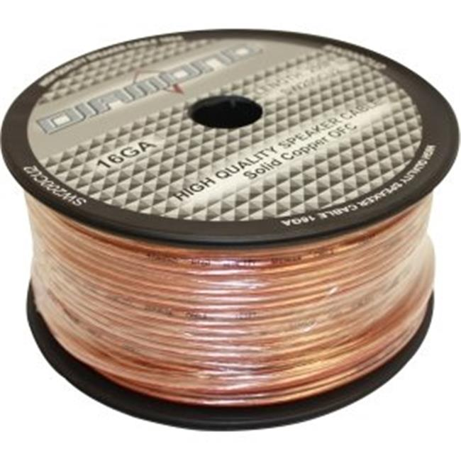 Diamond SW200CU2 Diamond Bulk Speaker Wire 16 ga.  65 Strand Solid Copper 2 Conductor 200 ft.