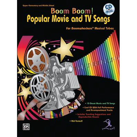 Boom Boom! Popular Movie and TV Songs for Boomwhackers Musical Tubes