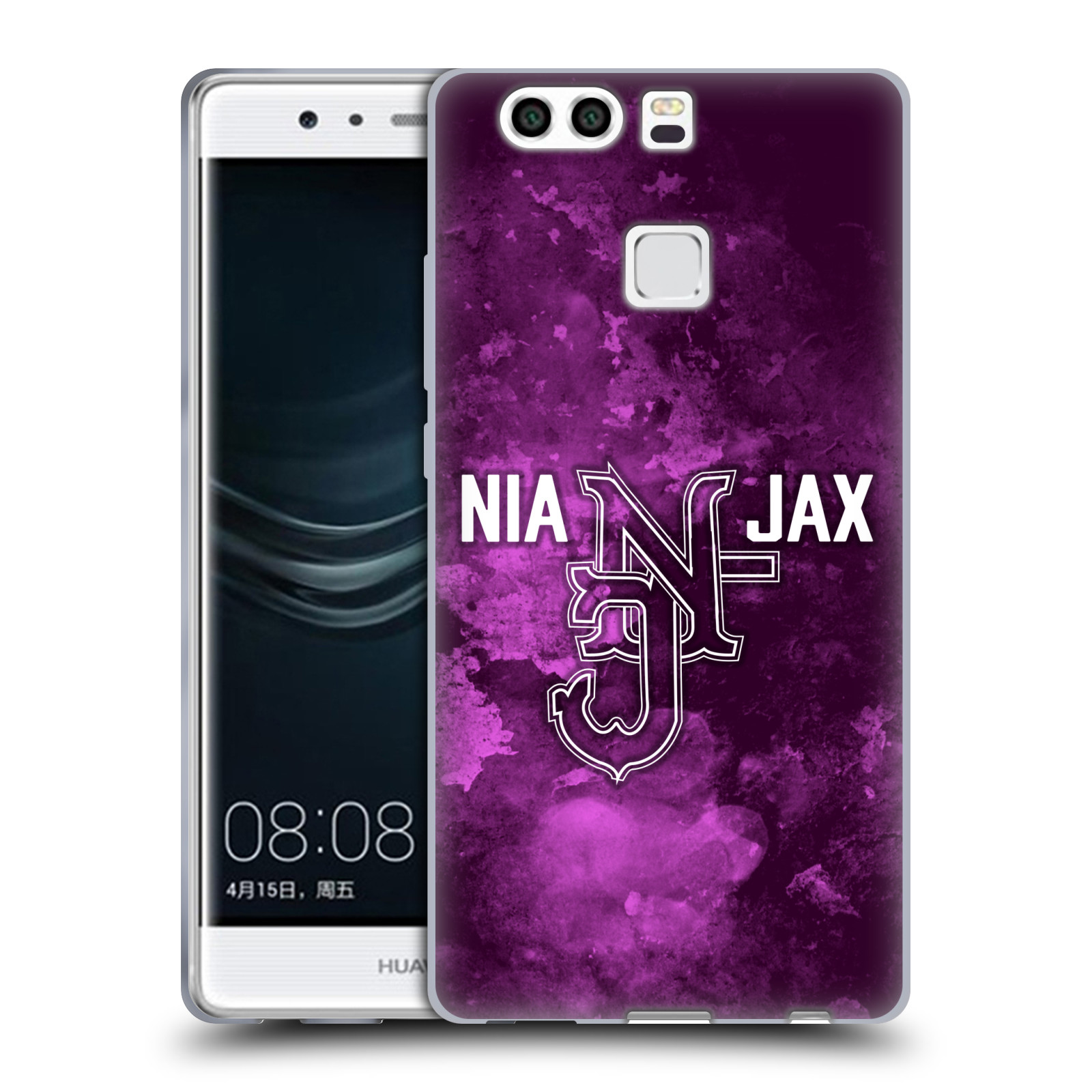 OFFICIAL WWE NIA JAX SOFT GEL CASE FOR HUAWEI PHONES
