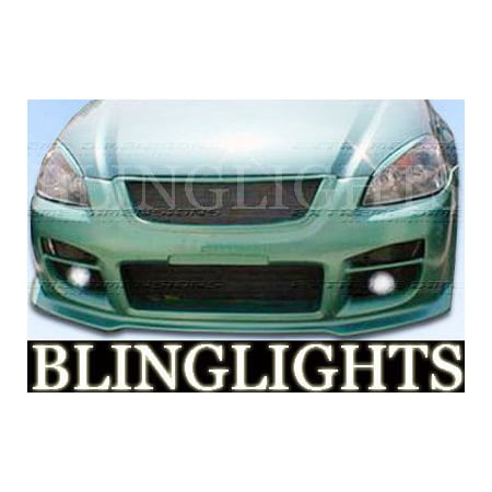 2002 2003 2004 2005 2006 Nissan Altima Extreme Dimensions Body Kit Foglamps Fog Lamps Driving