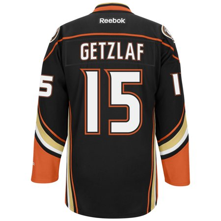 Ryan Getzlaf Anaheim Ducks Reebok Premier Jersey (Black) XL by