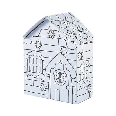 IN-13752167 Color Your Own Snowman Houses