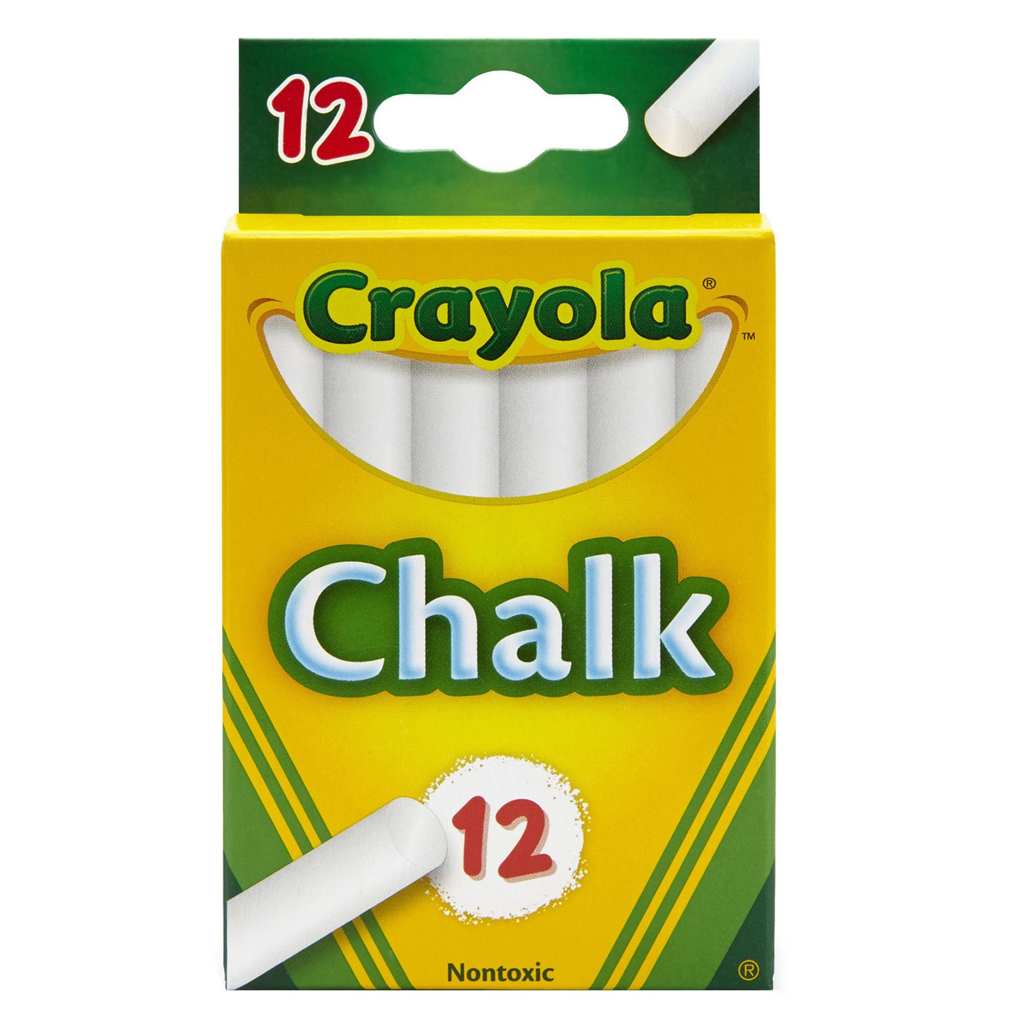 Crayola® Children's Chalk 12 sticks per box, Set of 36 boxes