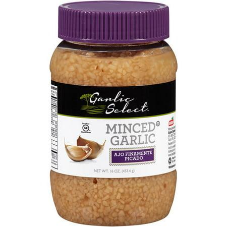 Garlic Select Minced Garlic  16 Oz