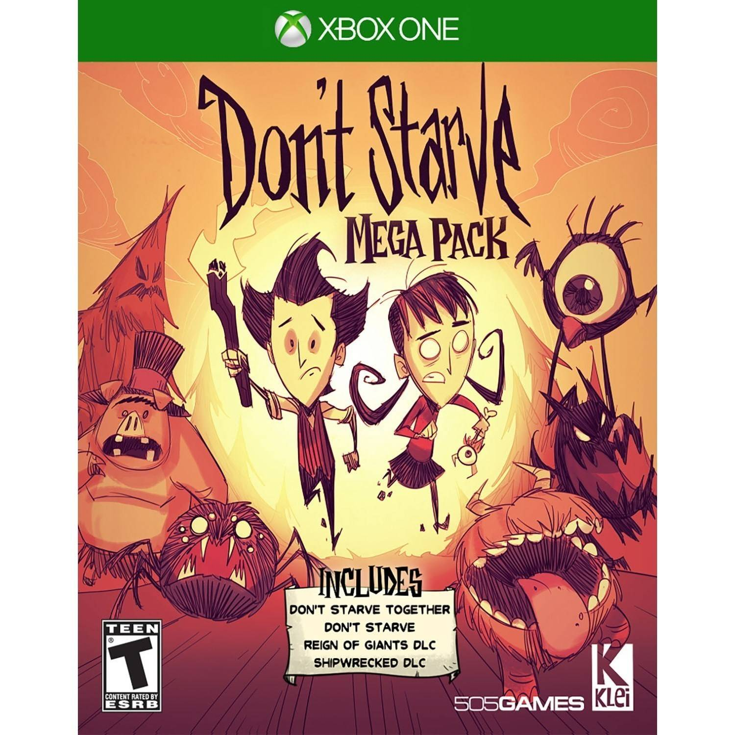 Don't Starve, 505 Games, Xbox One, 812872018867