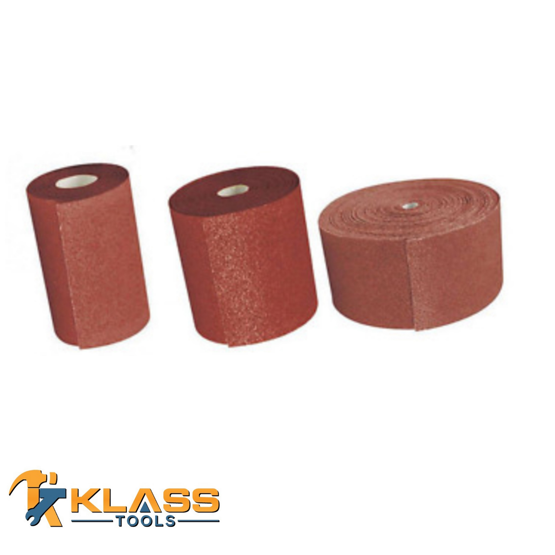 W 120 Grit Coarse Aluminum Oxide Sanding Cloth 12 pk 2 yd L x 1-1//2 in