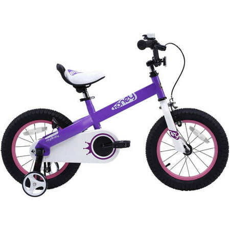 RoyalBaby Honey Purple 12 inch Kids Bicycle