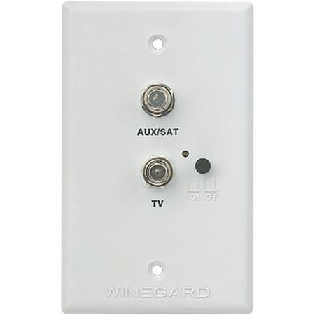 Winegard RV-7542 White RV TV Satellite Jack (Best Rv Satellite System)