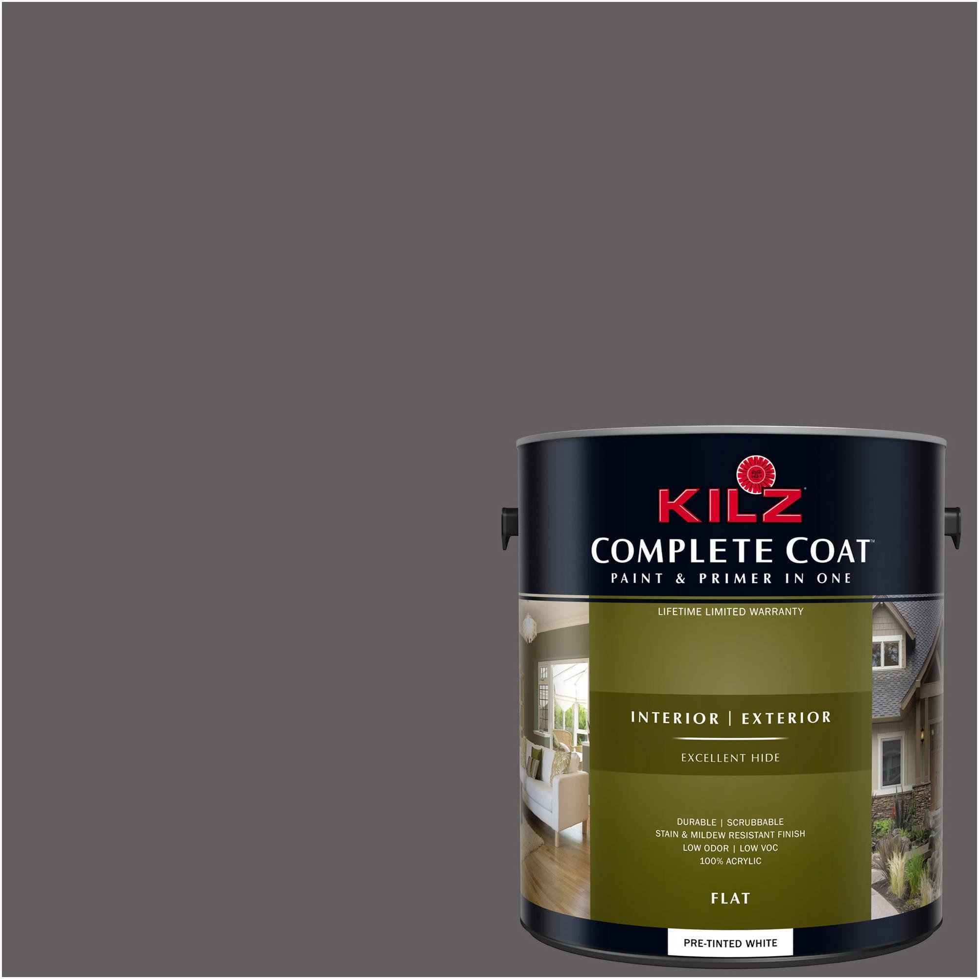 KILZ COMPLETE COAT Interior/Exterior Paint & Primer in One #RM200 Space