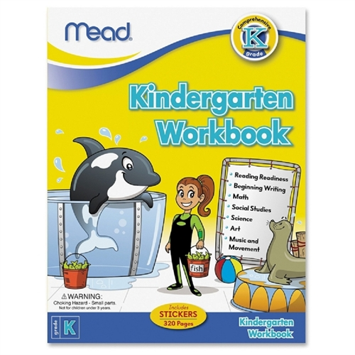 Mead Kindergarten Comprehensive Workbook Education Printed Book - Published On: 2012 February 13 - Book - 320 Pages (mea-48082)