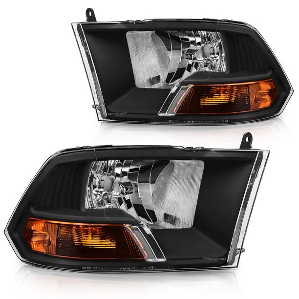 ram 1500 dodge headlight headlights 2500 assembly pickup 2009 dual autosaver88 pair aa compatible side cab headlamp lamps replacement passenger