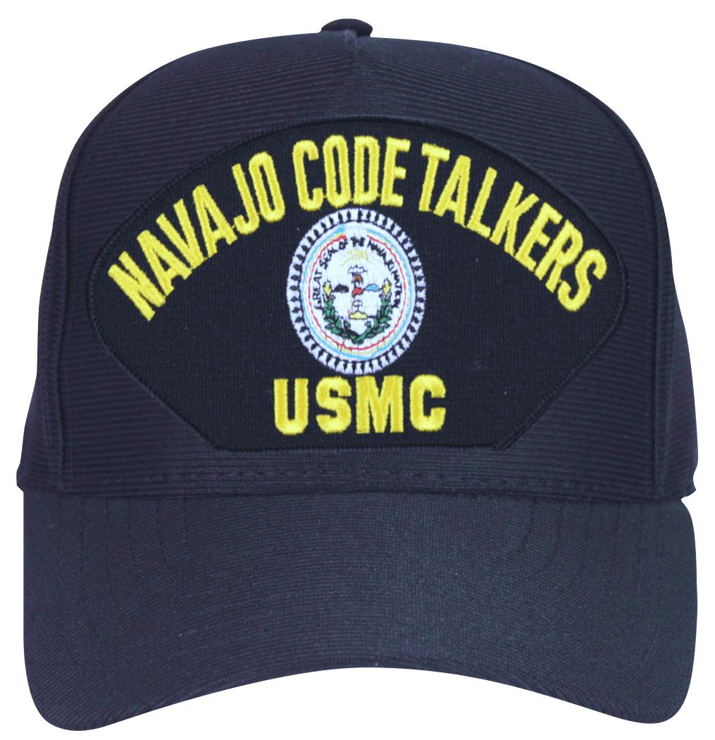 USMC Navajo Code Talkers Marine Corps Cap