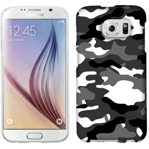 Mundaze Grey Camo Phone Case Cover for Samsung Galaxy S6