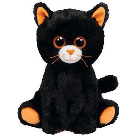eabed2cd055 TY Beanie Baby - MERLIN the Black Cat (6.5 inch) - Walmart.com