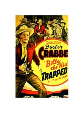 """Billy the Kid Trapped - movie POSTER (Style A) (11"""" x 17"""") (1942)"""