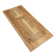 Classic Cribbage Set - Solid Wood Contin