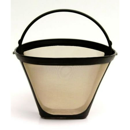 NEW Universal Gold Tone Permanent #4 Cone Coffee Filter Cuisinart