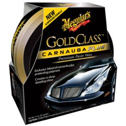 Meguiar's Gold Class Carnauba Plus Premium Paste Wax – Creates a Deep Dazzling Shine – G7014J, 11